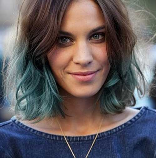 Taglio di capelli corti e colore Short-Hair-Color