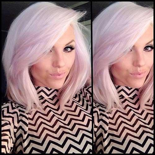 Taglio di capelli corti e colore Strawberry-Blonde-Hair