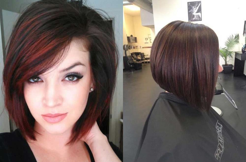 Taglio di capelli medi neri