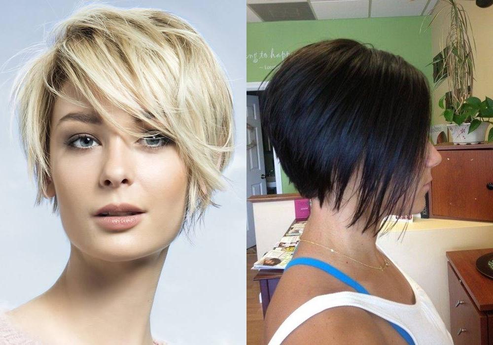 Tagli di capelli corti con volume