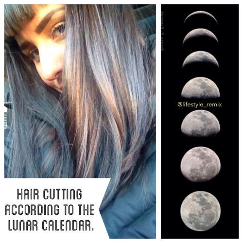 Ciclo lunare per tagliare i capelli