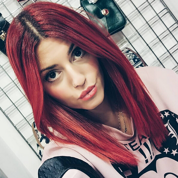 Idee per capelli rossi 125