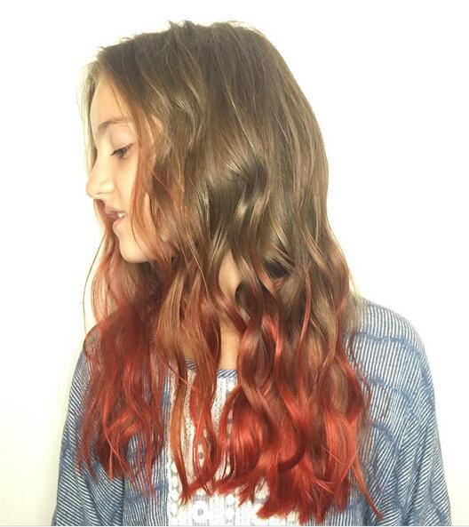 Idee per capelli rossi 29