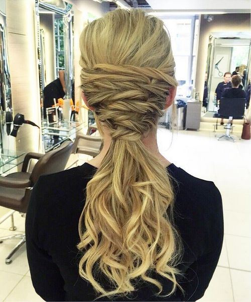 code di cavallo disordinate 3-curly-blonde-ponytail-with-weave