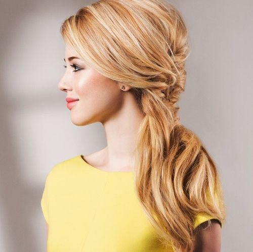 code di cavallo disordinate 8-fancy-side-ponytail