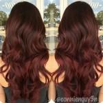 9-marsala-ombre-for-dark-brown-hair