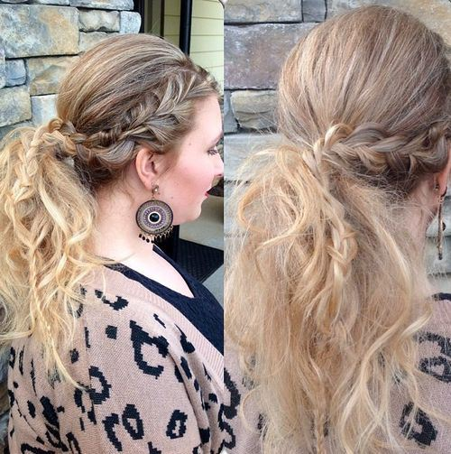 code di cavallo disordinate 9-pretty-messy-pony-with-braided-section