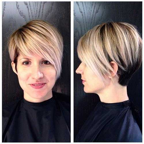 I migliori Pixie della stagione 2014 - 2015 Blonde-Highlighted-Long-Pixie-Hair