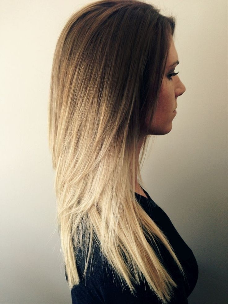 Cute-Long-Straight-Hair-Ombre-Hairstyle