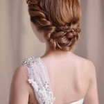 Ginger-Braided-Updo-Wedding