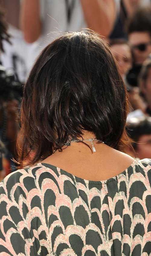 Taglio capelli medi da dietro