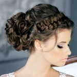 Lovely-Bun-with-Braids-on-Top