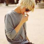 Short-Blonde-Straight-Hairstyle