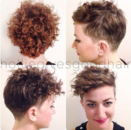 Trendy-Short-Curly-Hairstyle