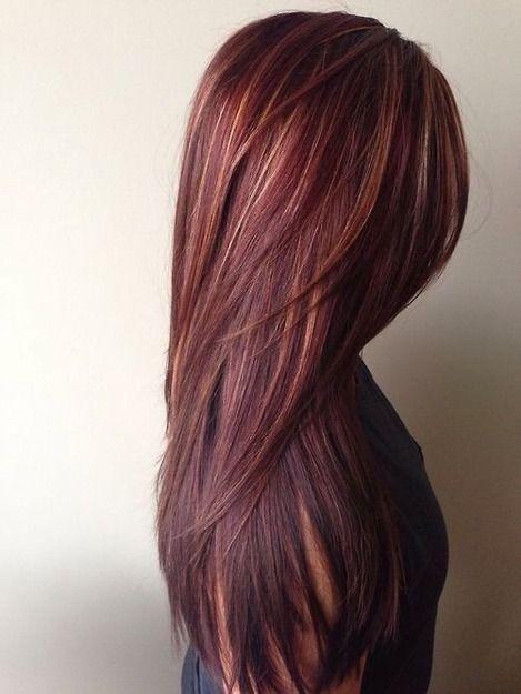Tagli di alta moda per capelli lunghi lisci