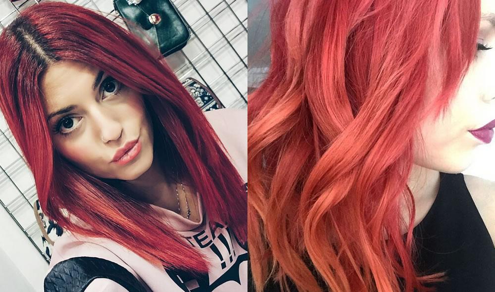 Taglio per capelli rossi