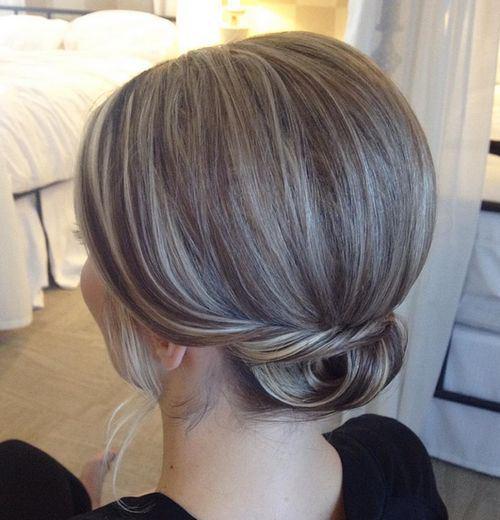 Come fare chignon per capelli corti