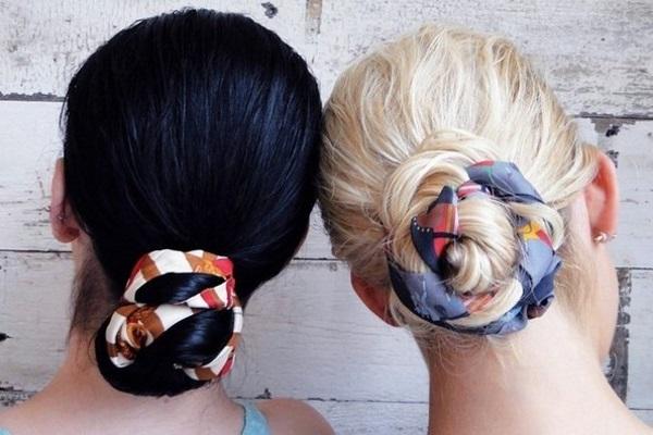 foulard nei capelli