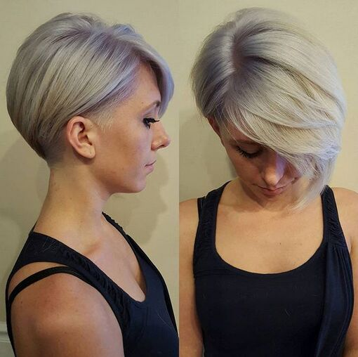 Asymmetrical-Short-Hairstyles-with-Long-Bangs-Shaved-Haircuts-2015-2016