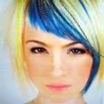 Blonde-Short-Hair-with-Blue-Bangs