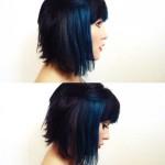 Dark-Blue-Colored-Short-Hair