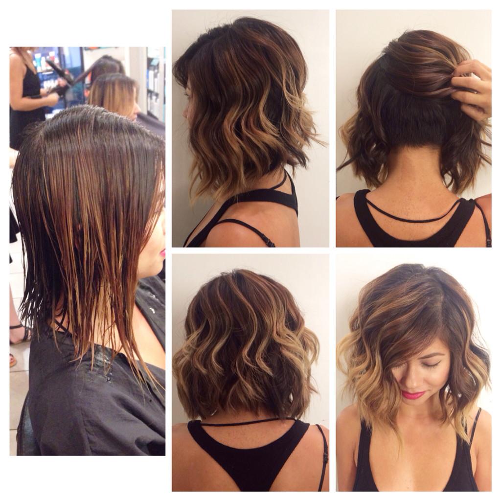 Come raccogliere i capelli medio lunghi