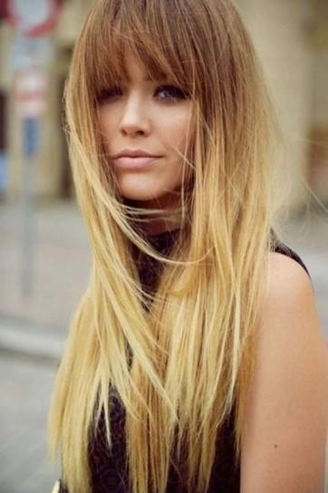 Tagli capelli frangia
