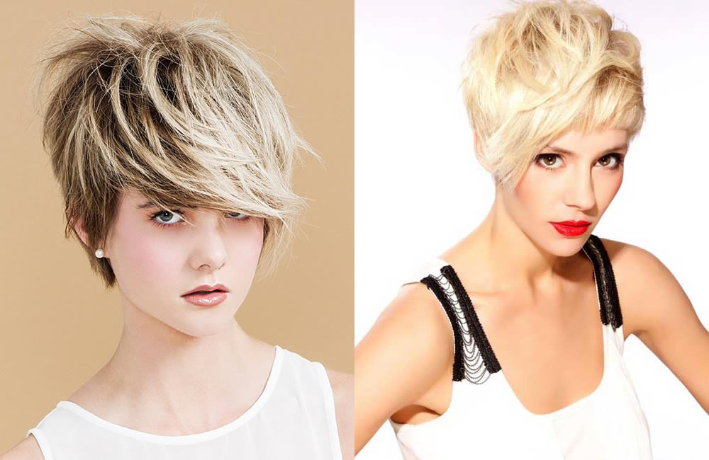 capelli corti e trendy