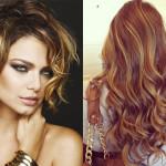 capelli mossi colorati
