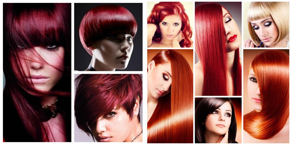 capelli rossi foto