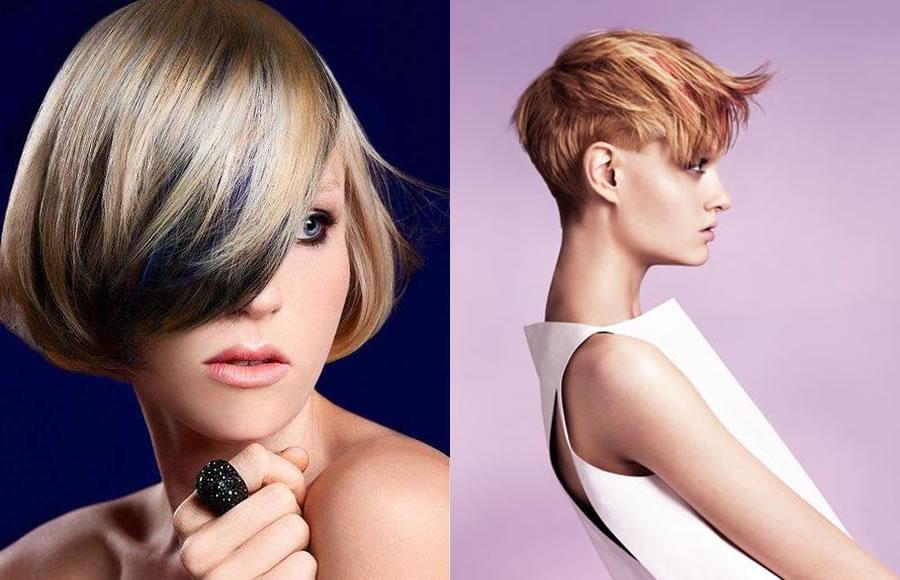 Molto 55 stili e colori di capelli corti per il prossimo inverno! BN09