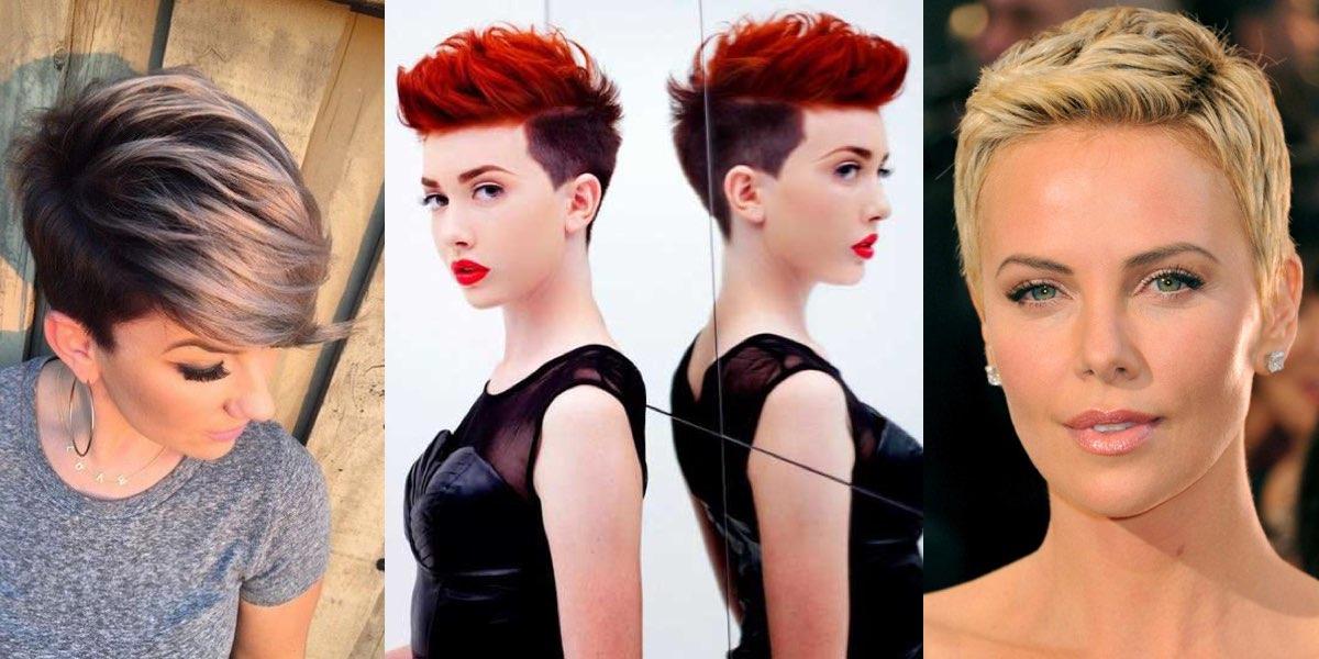 Tagli corti e colore di capelli