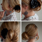 5-–-Side-Chignon-with-Corsage