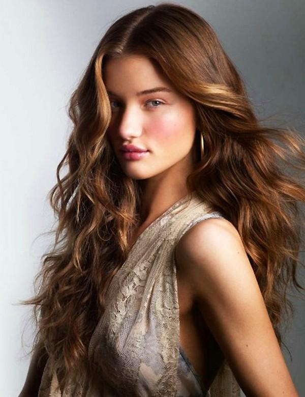 long hair wavy