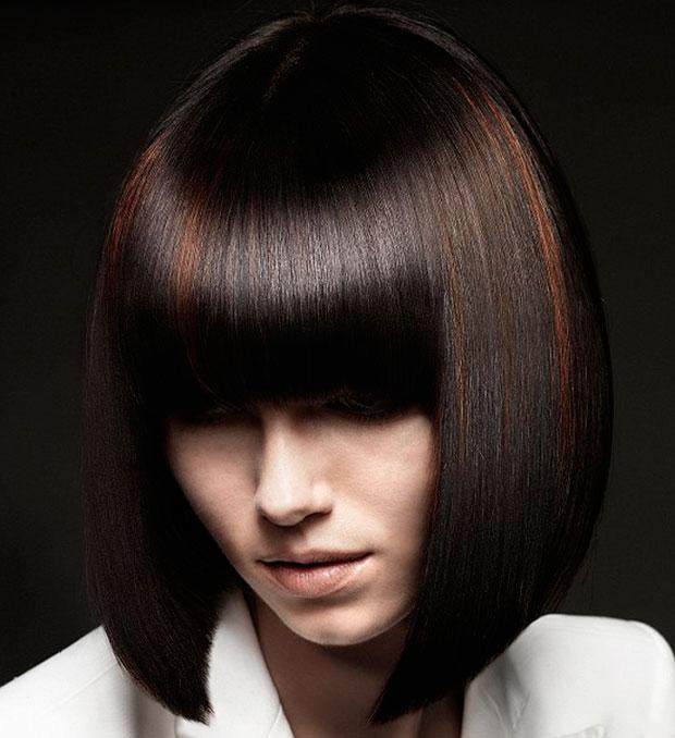 Taglio di capelli medi moderni