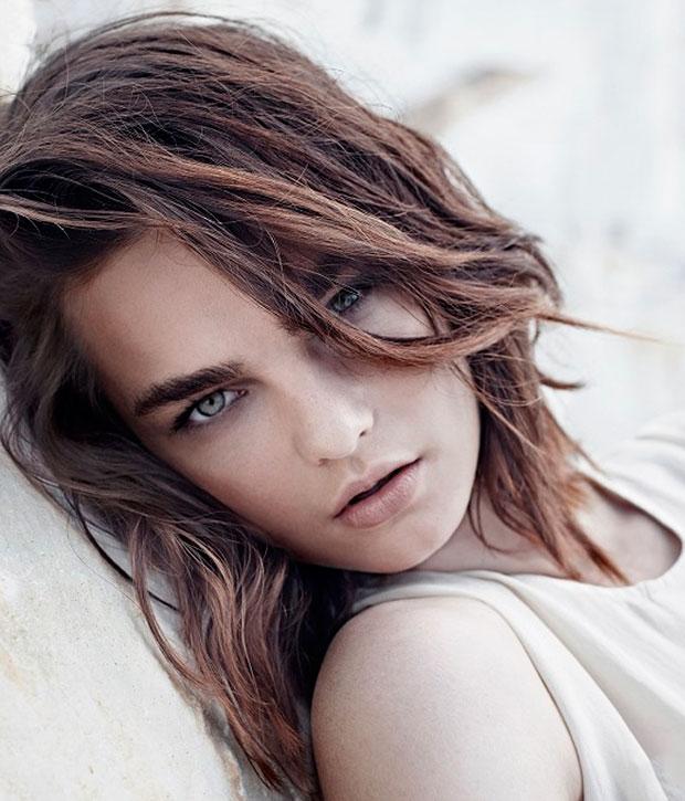 taglio di capelli medi