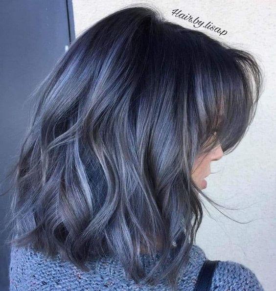 capelli grigio blu