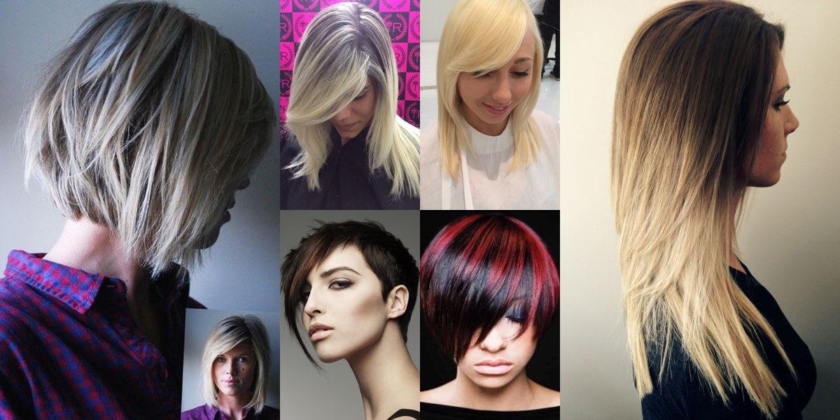 Immagini tagli capelli lisci