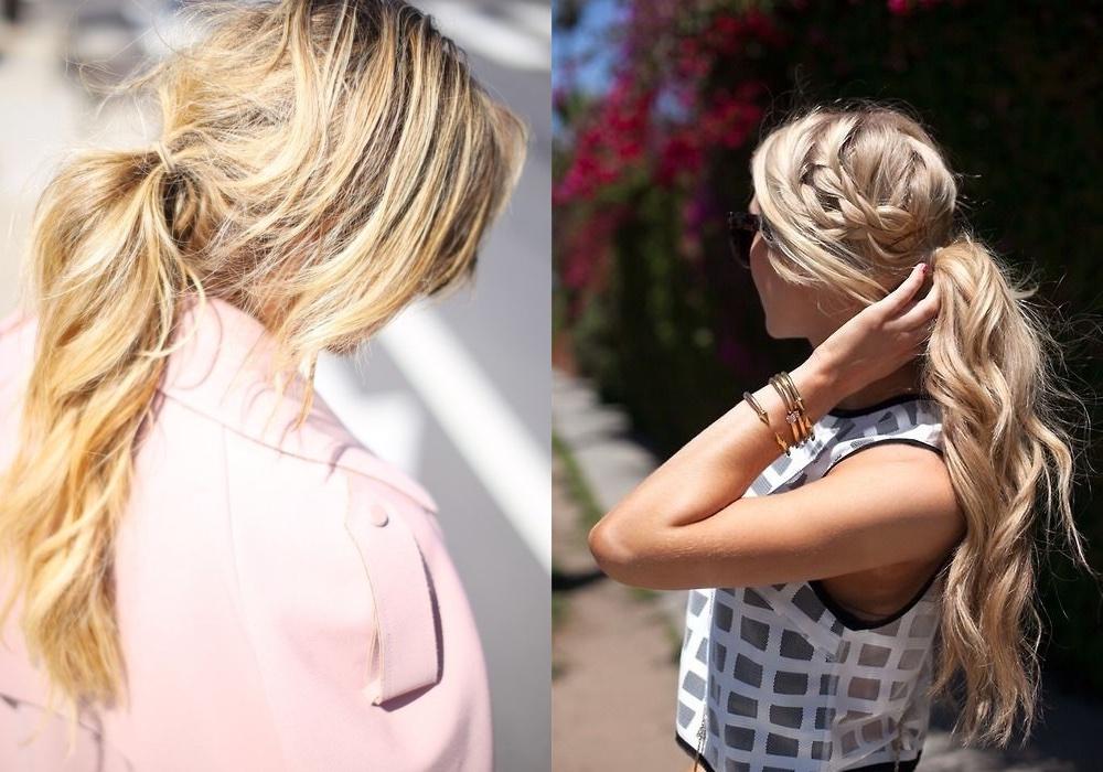 capelli raccolti idee