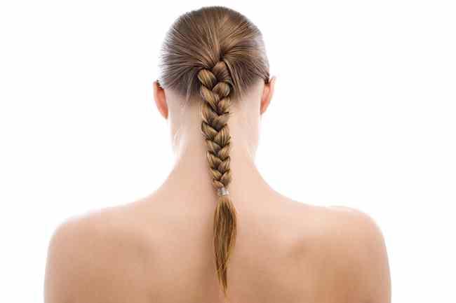capelli lunghi con trecce