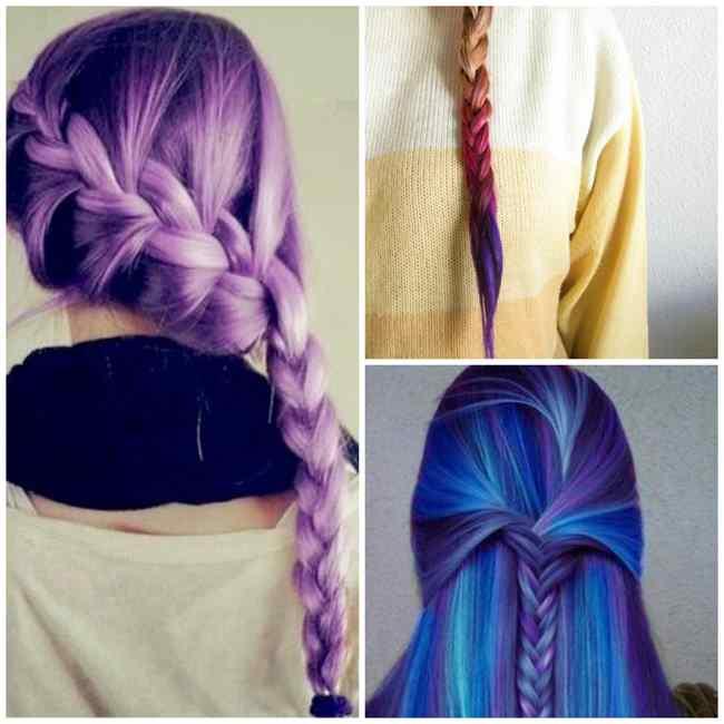 capelli lunghi con trecce treccia-8