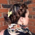 14-bun-and-braid-low-maintenance-updo