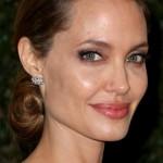 Angelina-Jolie-Long-Hairstyle-Elegant-Chignon