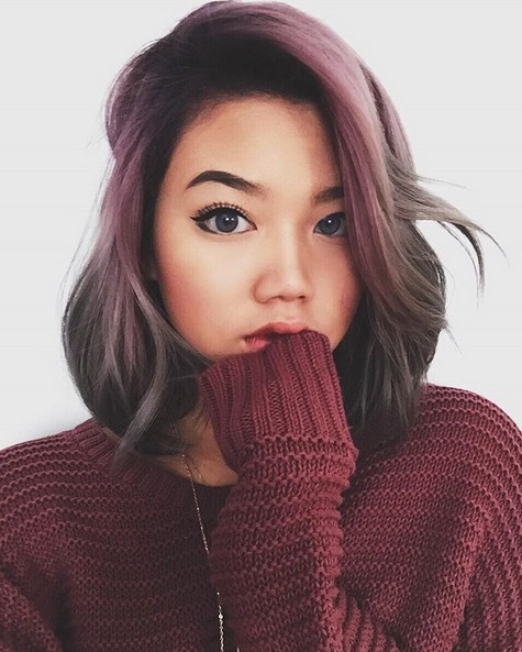 Cute-Reddish-Pink-and-Gray-Balayage-Hair-Styles Cute-Reddish-Pink-and-Gray-Balayage-Hair-Styles