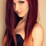 Dark-Red-Ombre-Hair