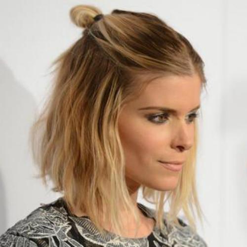 Kate-Mara-half-bun-hairstyle-2016