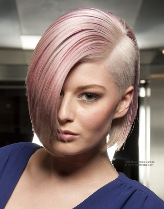 taglio rasato laterale Silky-Side-Shaved-Hairstyles-For-Women