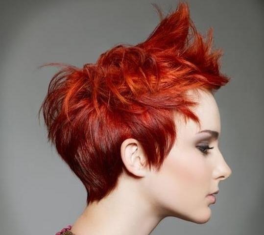 capelli rossi medi