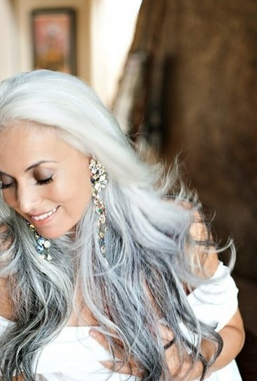 capelli-sposa-bianchi-e-grigi - CapelliStyle 4cfae7e004a4