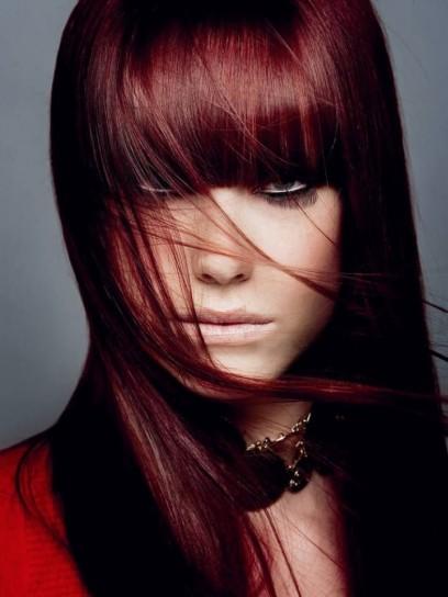 capelli rossi lunghi
